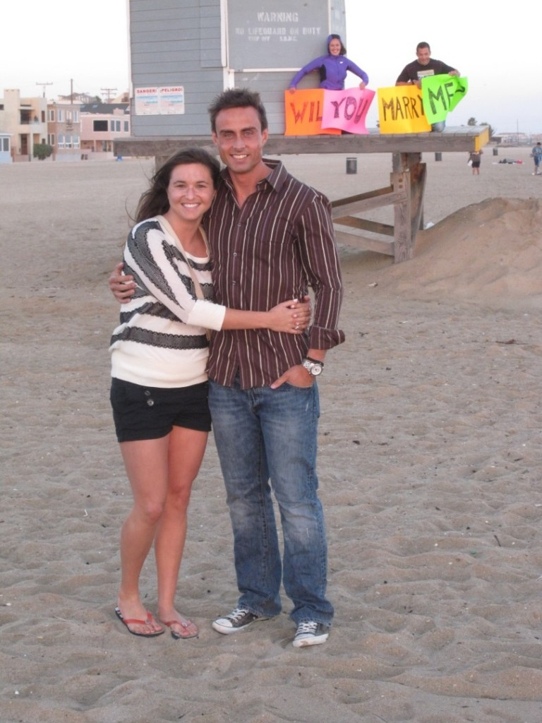 A Photobomb Proposal in Seal Beach