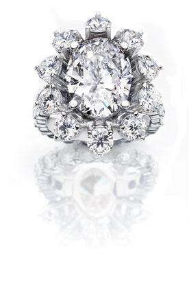 houseoftaylor_ovaldiamond - Most Expensive Wedding Ring In The World