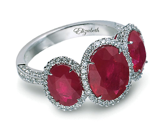 Rubies Engagement Rings