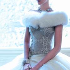 Winter Theme Wedding Dresses 116