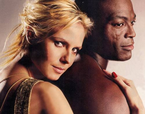 heidi klum and seal wedding vow renewal. Heidi Klum and Seal