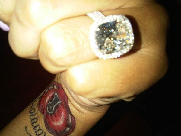 Monica S Engagement Ring