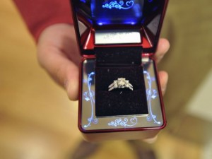 santa helps with surprise marriage proposal engagement 101