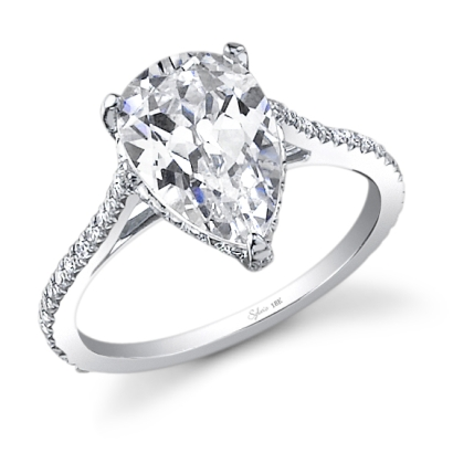 unique pear shaped engagement rings engagement 101
