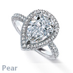 pear-cut-ring