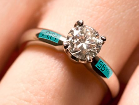 fake wedding ring engagement ring tells time and temperature engagement 101 4003