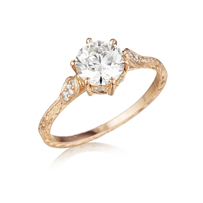 Buying Guide to AntiqueVintage Diamond Engagement Rings