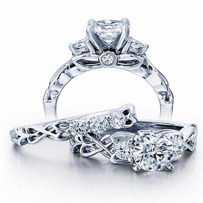 Antique Jewelry Images Ze Bridal Art Nouveau Fl Style96842 L