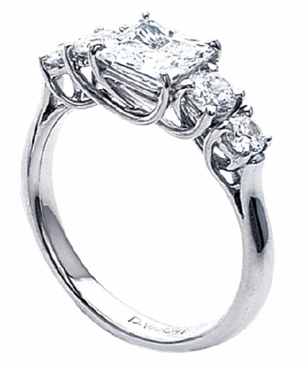 trellis setting - Types Of Wedding Rings