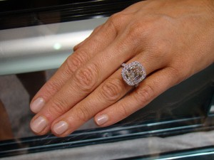Henri Daussi Large Cushion Cut