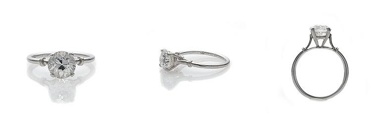 1915 Vintage Engagement Ring