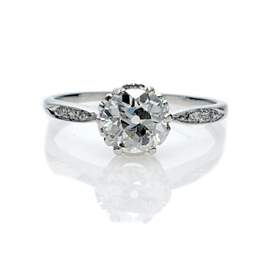 101 on Vintage inspired Engagement Rings Engagement 101