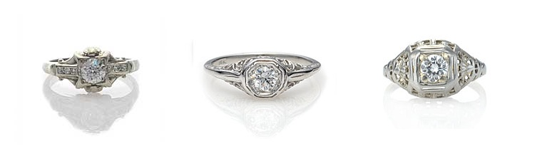 101 On Vintage Inspired Engagement Rings