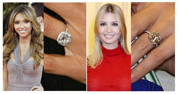 guiliana rancic ivanka tramp engagement ring - Giuliana Rancic Wedding Ring