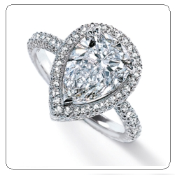Top 8 Pear Shaped Engagement Rings of 2011 Engagement 101