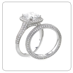 Mark patterson wedding set ring