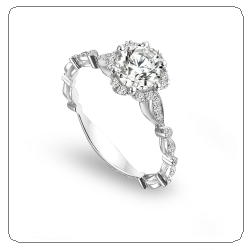 Top 10 best floral engagement rings of 2011 Engagement 101