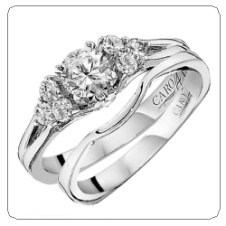 caro74 wedding set ring