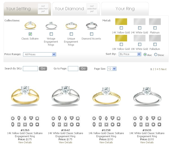 High Quality Ring Builder Denatale