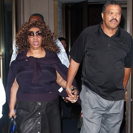 Aretha Franklin & William Wilkerson engagement ring