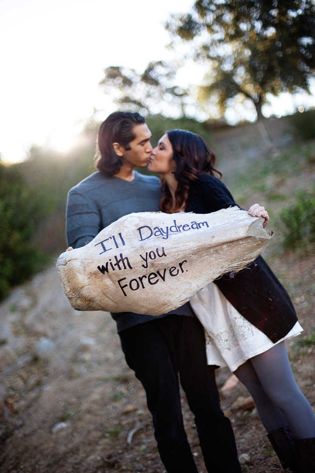 JayaGarrett I'll daydream with you forever proposal idea