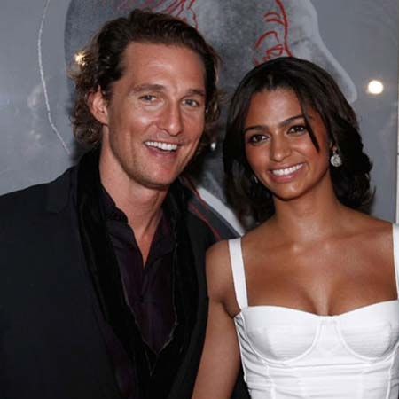 Matthew Mcconaughey & Camila Alves engagement ring