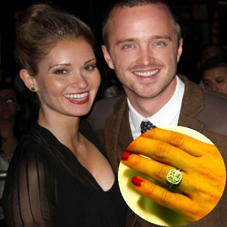 aaron paul engagement ring