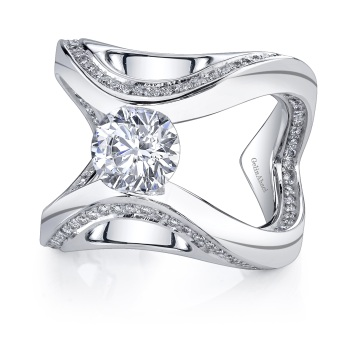 This GelinAbaci Style Is Available In Gold And Platinum See For Yourself Here Are 3 Different Angles More Engagement Rings