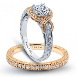 Kirk Kara Engagement Ring Pirouette 3 Engagement 101
