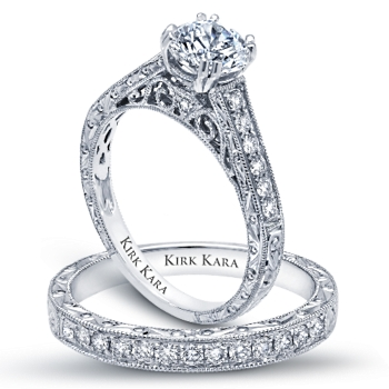 The Collection Starts At 2000 MSRP See More Kirk Kara Engagement Rings