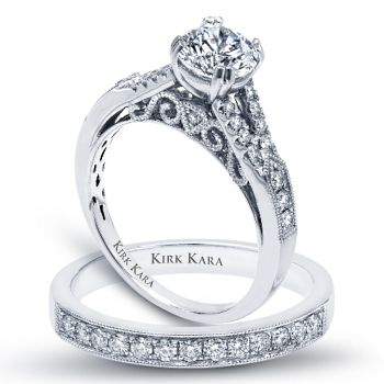 See More Kirk Kara Engagement Rings