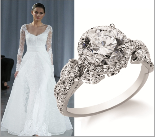 monique lhuillier exclusive engagement rings engagement 101
