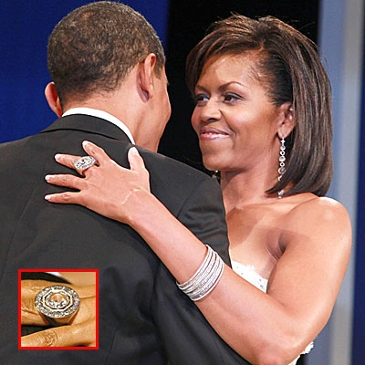 Michelle Obama and Ann Romney Proposals and Engagement Rings