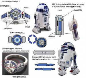 Star Wars Customized Engagement Ring Engagement 101