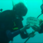 An Under Water Proposal