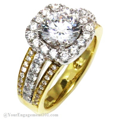 Design   Wedding Dress Online on Olivia Wilde Engagement Ring Frederic Sage   Engagement 101
