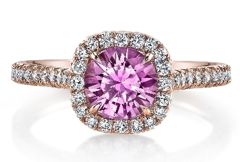 Diamond And Pink Sapphire Wedding Band 10 Best Affordable sapphire wedding rings