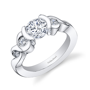 Get a Palladium Tension Engagement Ring Engagement 101