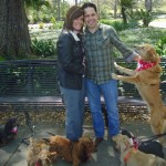 Her 7 Cute Dogs Helped Him Propose