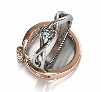OROAFRICA New Absolute Jewelry Wedding Ring Collection Crafted in