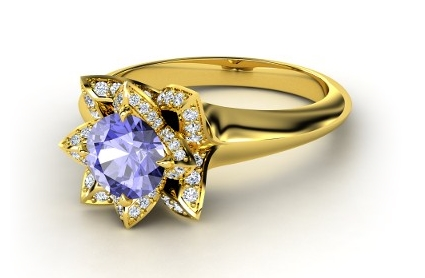 Design Your Engagement Ring in Color Online