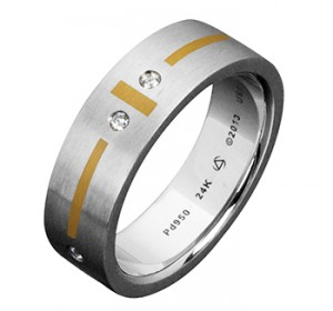 Steven Kretchmer New Palladium Wedding Bands