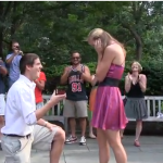 Oh, look! Another Flash Mob Proposal.