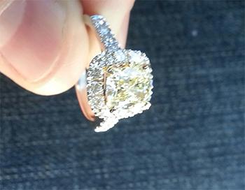 2 Carat Canary Diamond Ring Ringscladdagh