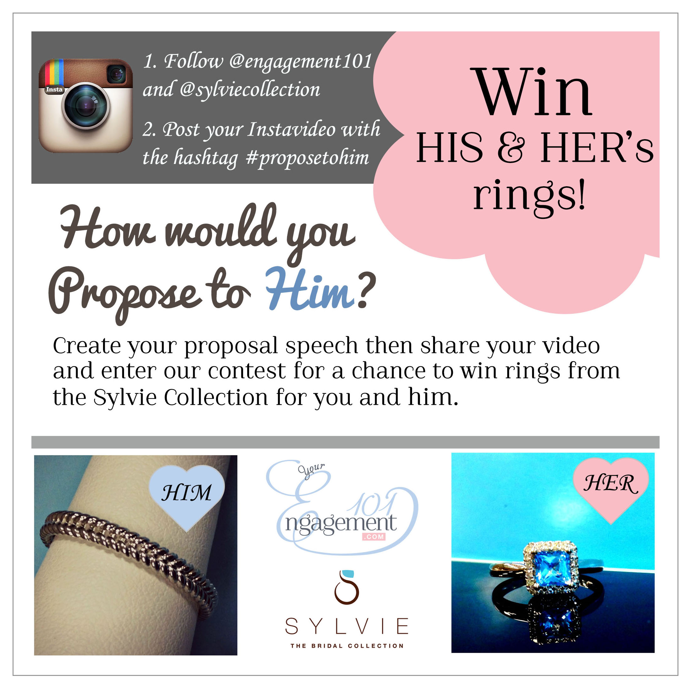 Pretend to Propose To Him and Win Rings for You and Him ...