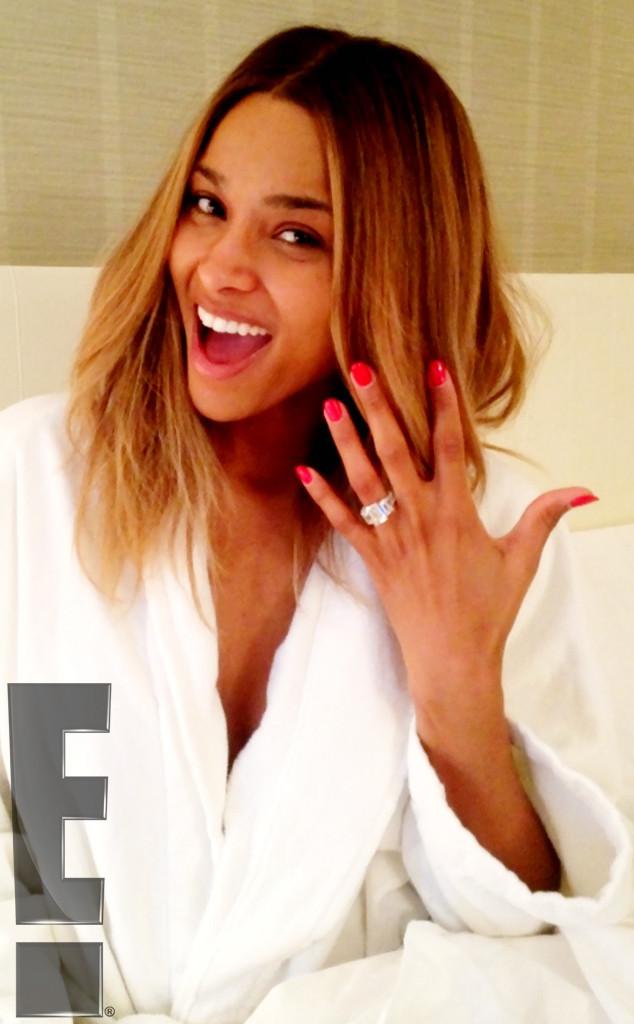 ciara shares pictures of engagement ring - Tamar Braxton Wedding Ring