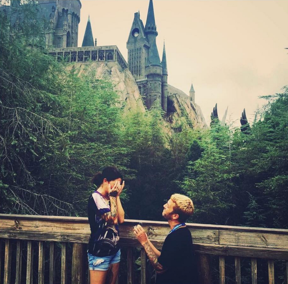 Hogwart Harry Potter Proposal