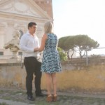 A Romantic Proposal in Rome with a Movie Video!