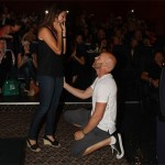 Amazing Movie Theater Proposal with Lots of Love