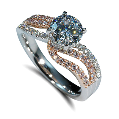 Mark Silverstein Two Tone Engagement Rings Engagement 101